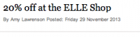 Dr. Lewinn's on Elle Online
