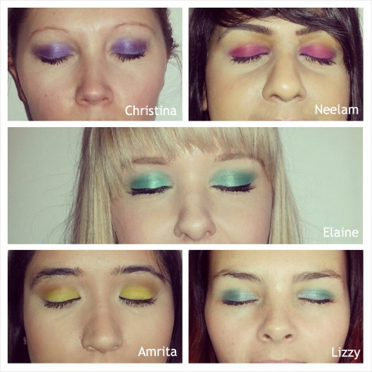 Bright Eyeshadow