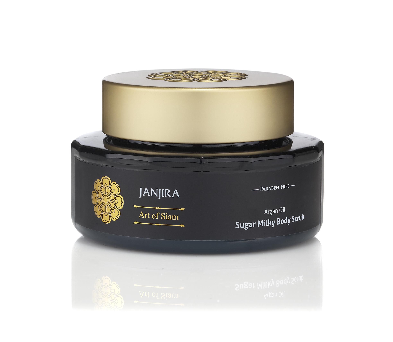 Janjira Argan Oil Sugar Milky Body Scrub